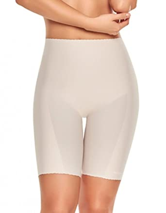 de3bac63552af TrueShapers 1271 Mid-Thigh Invisible Shaper Short at Amazon Women s  Clothing store