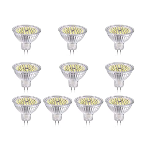 Foco de LED YQXR, DC 24V 5W MR16 Bombilla LED - 50W ...