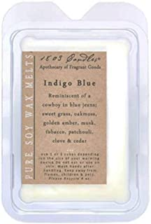 product image for 1803 Candles - Soy Fragrance Melters with Tips Brochure (Indigo Blue)