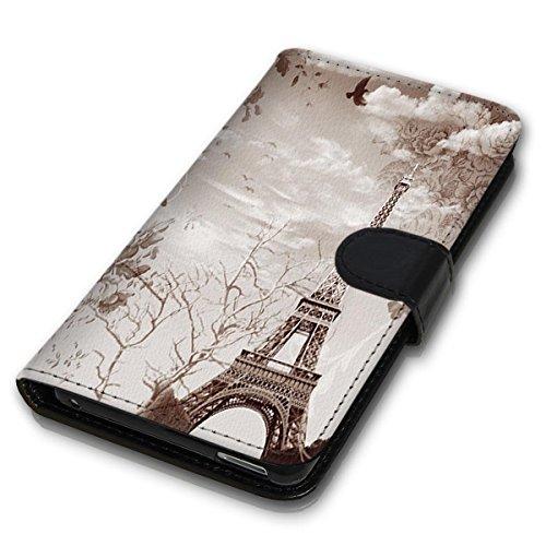 Wallet Book Style Flip Handy Tasche Case Schutz Hülle Schale Motiv Etui für Apple iPhone 6 Plus / 6S Plus - Design Flip MVD320