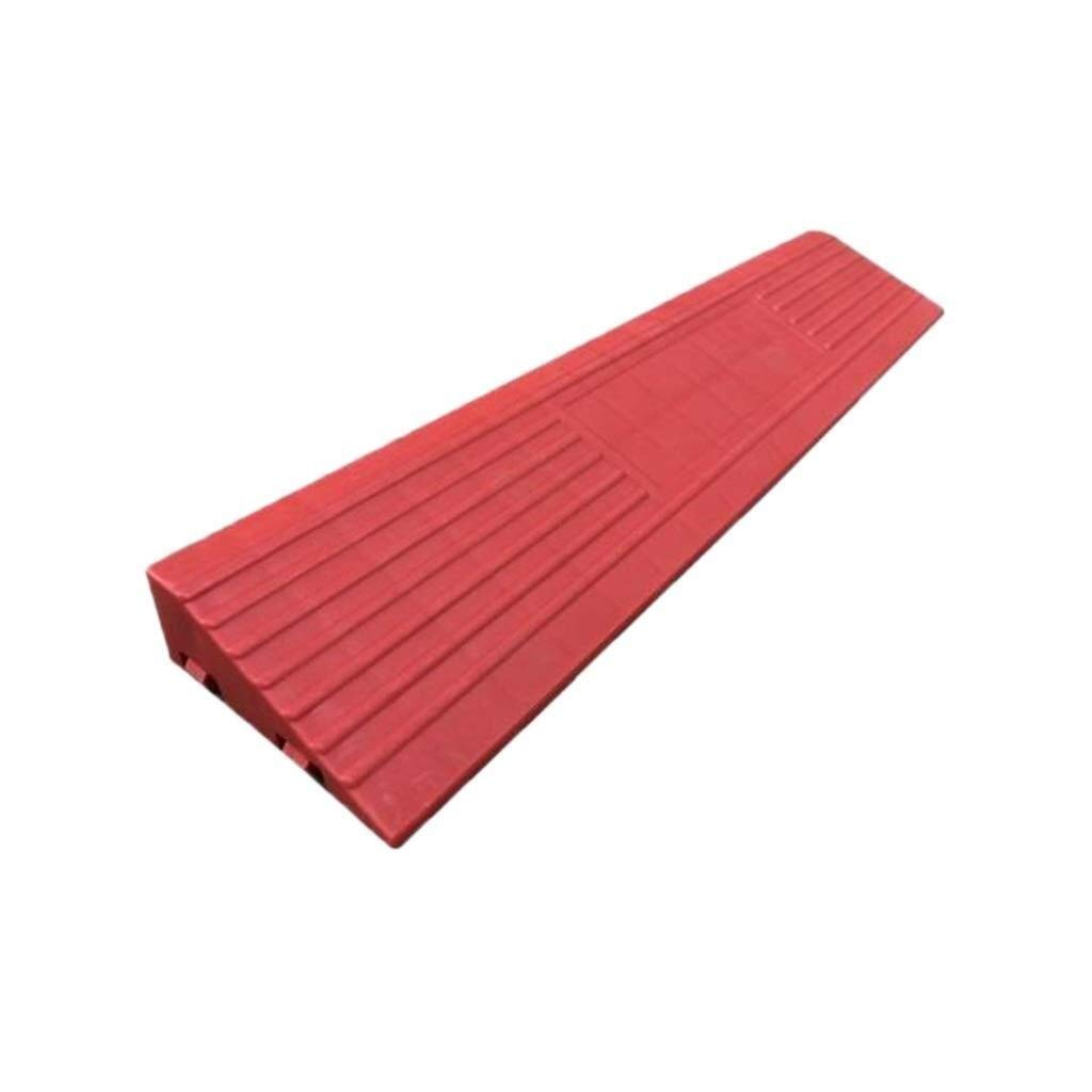Kerb ramps Ramps Red Ramps Threshold Door Indoor Safety Ramps Wheelchair Accessories Threshold Ramps Household Slope Pad