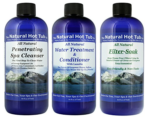 THE NATURAL HOT TUB COMPANY ALL NATURAL START UP KIT SPA TREATMENT IT'S THE NATURAL SOLUTION. ()