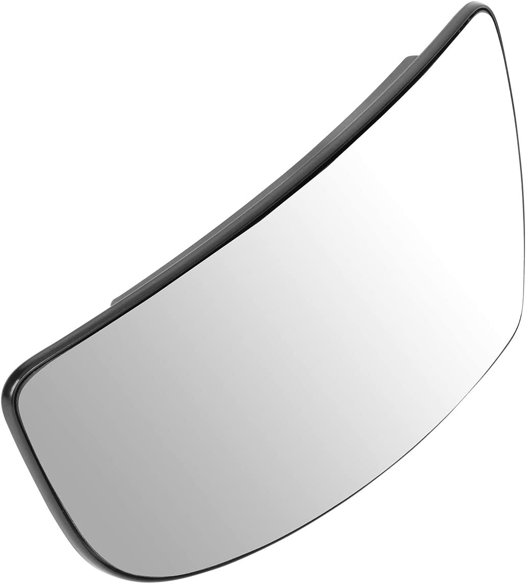 BK3Z17K707B OE Style Driver//Left Lower Tow Mirror Glass Lens Replacement for Ford Transit 150 250 15-19