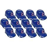 MLB Mini Batting Helmet Ice Cream Sundae/ Snack Bowls, Cubs - 12 Pack