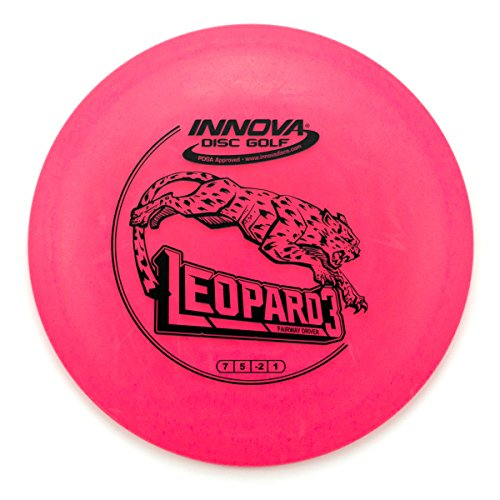 (INNOVA DX Leopard3 Fairway Driver Golf Disc [Colors May Vary] - 140-150g)