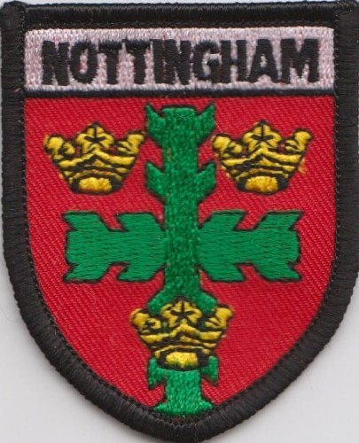 WILTSHIRE County Flag Embroidered Patch Iron on Sew On Badge For Clothes Etc
