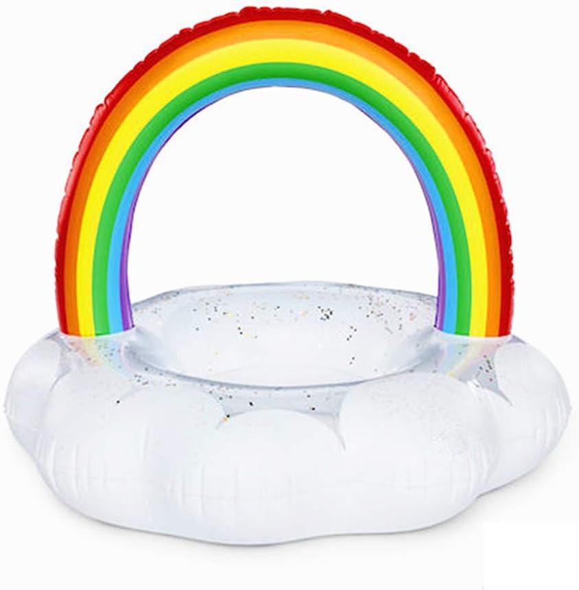 Flotador inflable piscina paseo flotante gigante con válvulas ...