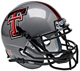 NCAA Texas Tech Red Raiders 2013 Gray Mini Helmet, One Size, White