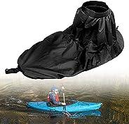 Kayak Spray Skirt Universal, Universal Adjustable Nylon Kayak Spray Skirt Waterproof Cover Kayak Accessory Wat