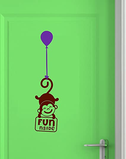 Asian Paints Wall-Ons Door Monkey Fun Wall Sticker (PVC Vinyl 0.01 cm  sc 1 st  Amazon.in & Buy Asian Paints Wall-Ons Door Monkey Fun Wall Sticker (PVC Vinyl ...