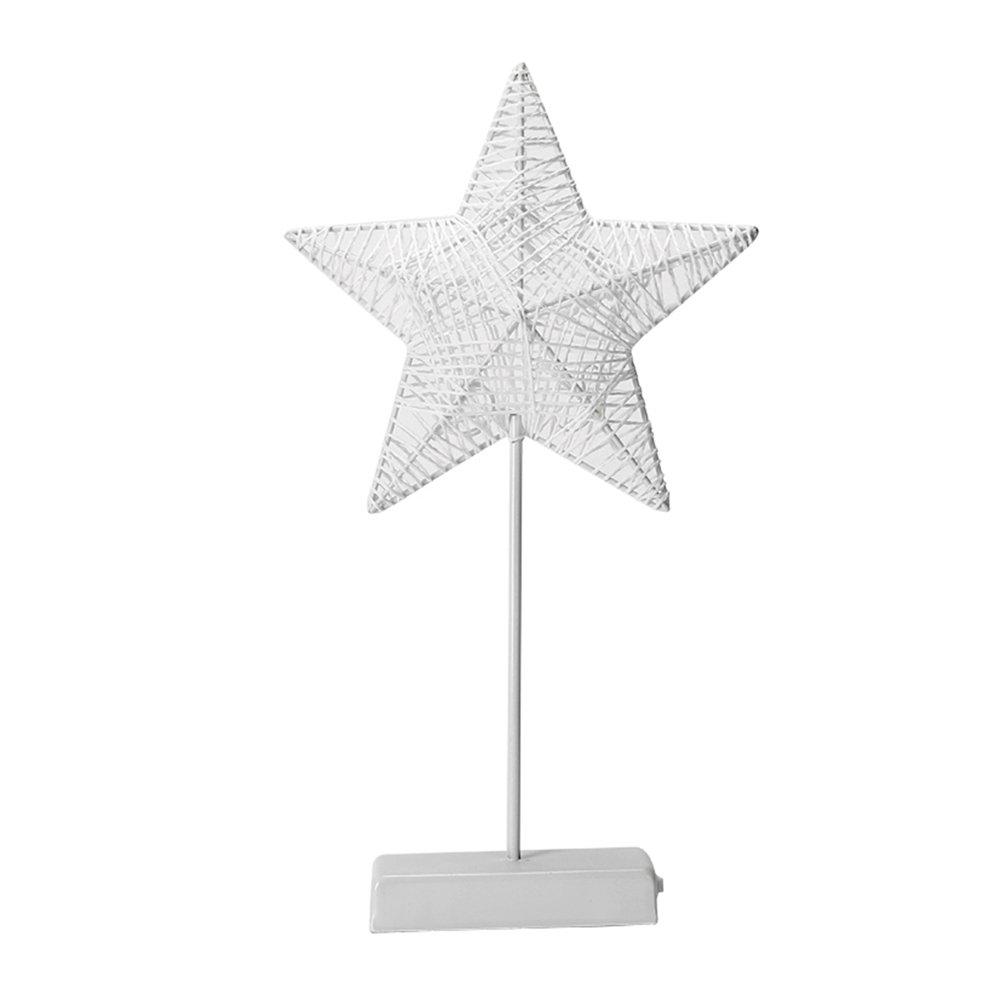 LEDMOMO LED Night Light Table Lamp Star Shaped Decorative Light Atmosphere Light Sweet Nursery Room Decorations
