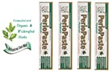 PerioPaste Natural Toothpaste - FOUR 4 oz Tubes