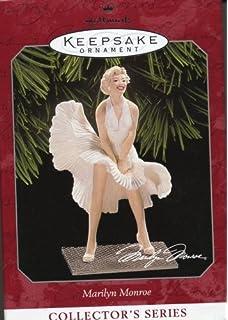 Amazon.com: 1 X Hallmark Keepsake Ornament Marilyn Monroe 1st New ...