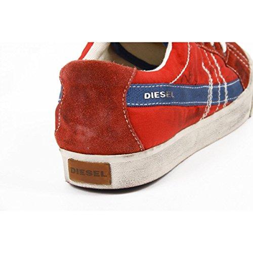 Diesel D-string Low - Zapatillas Hombre Rojo