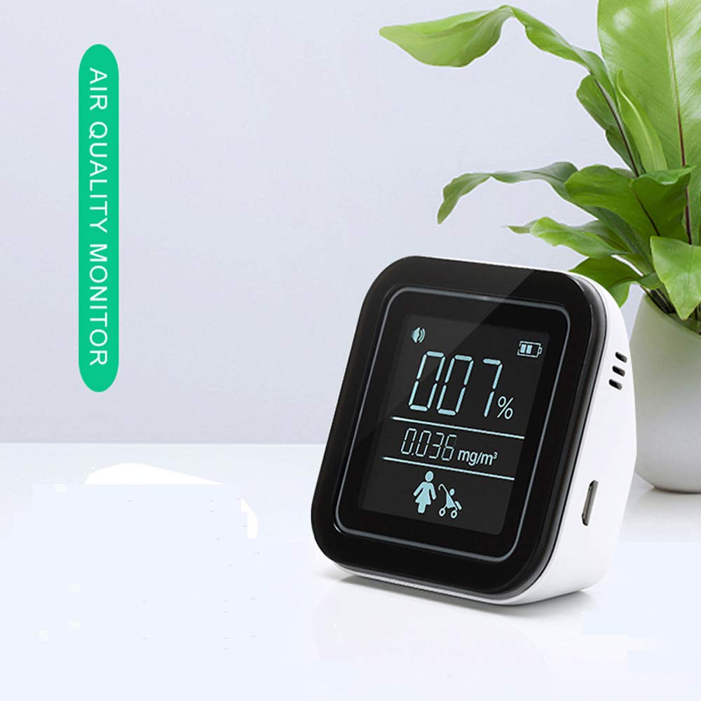 TVOC Air Quality Monitor Formaldehyde Detector Pollution Meter Monitor to Detect Indoor Pollution 2020 New Indoor air Quality Monitor