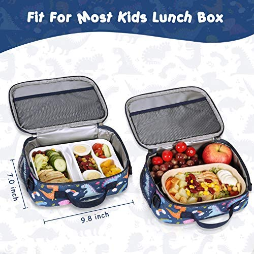 Momcozy Kids Lunch Bag for Boys and Girls Insulated Lunch Box for Kids School and Travel Compatible