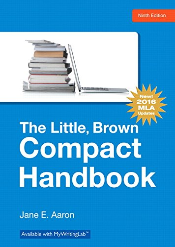 Little, Brown, Compact Handbook, The, MLA Update Edition (9th Edition) ()