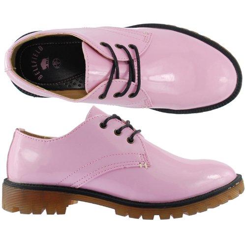Bellfield Baola Mesdames Chaussures ROSE SAUMON