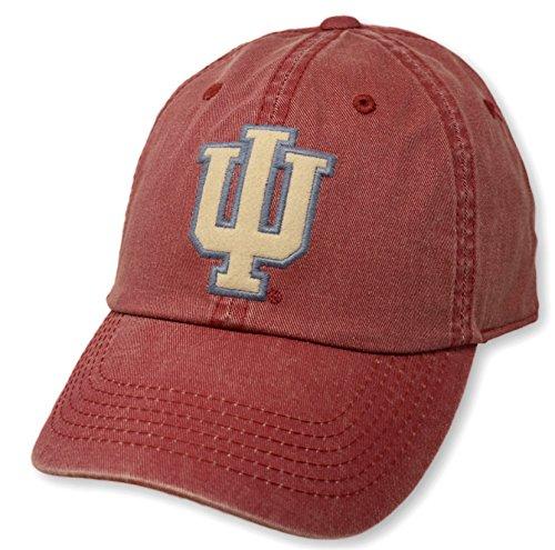 Elite Fan Shop Indiana Hoosiers Icon Crimson Hat - Indiana University Baseball