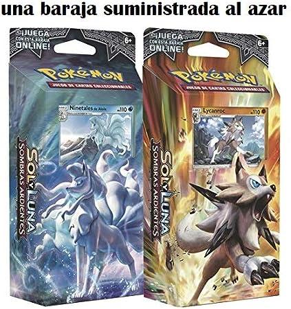 Pokémon - Baraja 60 cartas Sol y Luna Sombras Ardientes (POSMBS01), surtido: modelos/colores aleatorios: Amazon.es: Juguetes y juegos