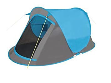 NEW 2 MAN PERSON POP UP TENT HIKING CAMPING FESTIVAL BEACH QUICK INSTANT FAST PITCH (  sc 1 st  Amazon UK & NEW 2 MAN PERSON POP UP TENT HIKING CAMPING FESTIVAL BEACH QUICK ...