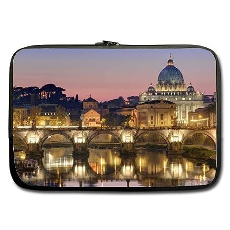 Roma Ciudad edificio mejor precio 17 inch Laptop/Ordenador portátil/portátil (neopreno,
