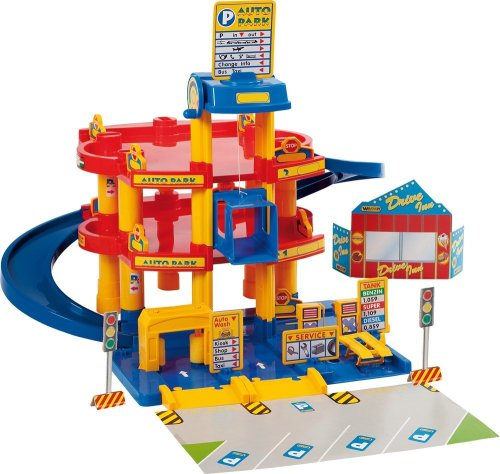 Wader Standard Garage Playset With Cars, used for sale  Delivered anywhere in USA