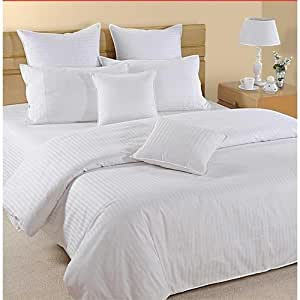 Hotel Linen White (220 X 240) Double Duvet Cover