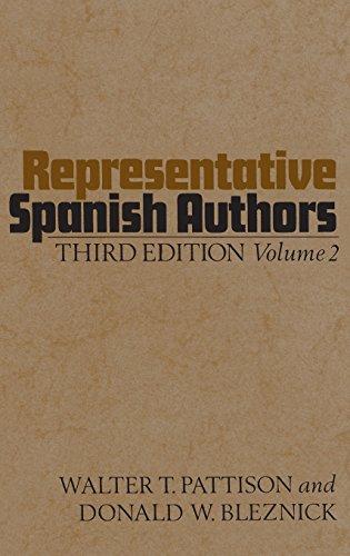 Representative Spanish Authors, Vol. 2 (English and Spanish ()