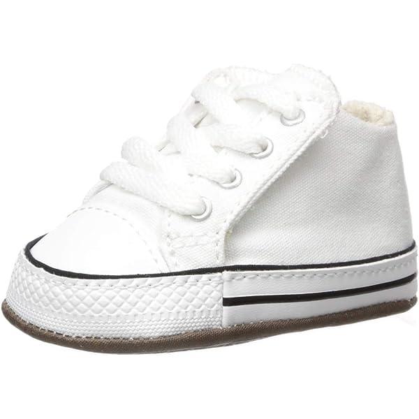Converse First Star Hi Black 8J231 Crib Size 3: