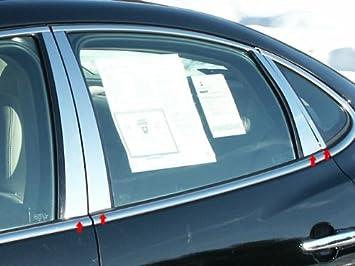 LINCOLN NAVIGATOR  CHROME PILLAR POSTS FITS 2007-2015 6 PIECE SET