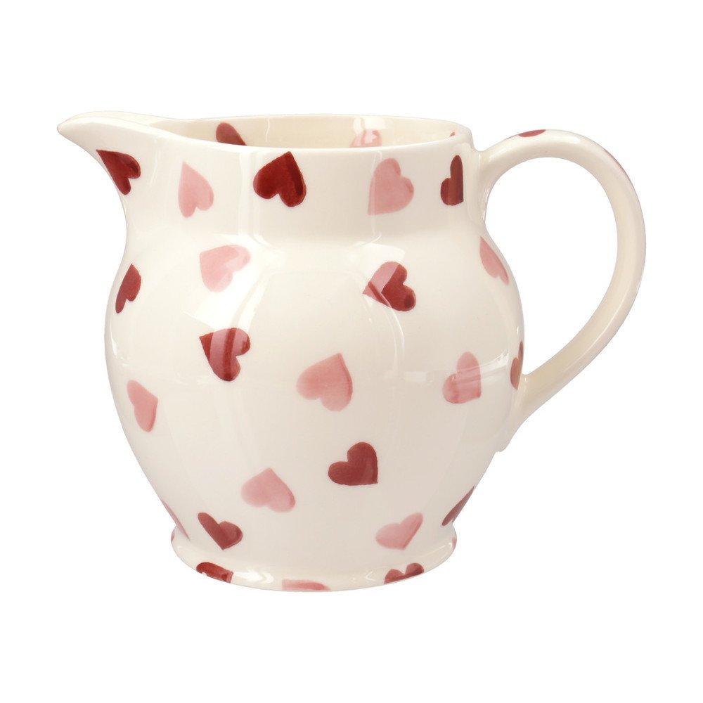 Emma Bridgewater Pink Hearts 1.5pt Jug Emma Bridgewater Pottery