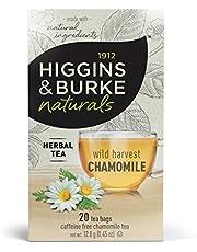 Higgins & Burke Wild Harvest Chamomile Tea, 20 Count