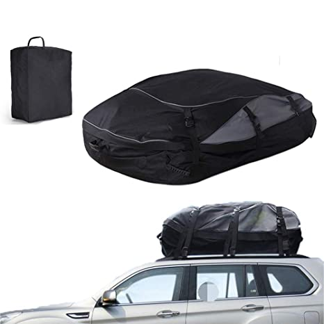 Amazon.com: Bolsa para el techo del coche, 100 % impermeable ...