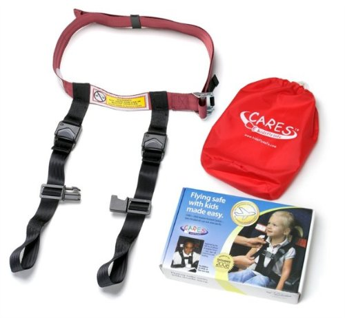 Airplane travel harness