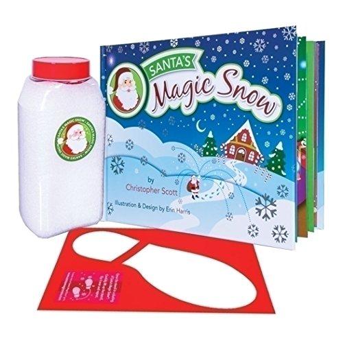 Snow Santa Claus - Santa Claus Book and Snow Boot Stencil 3 Piece Kit