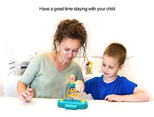 ODEV Pendulum Balls Alarm Kits STEM Physics Science Toys Birthday Gifts for Girls and Boys]()