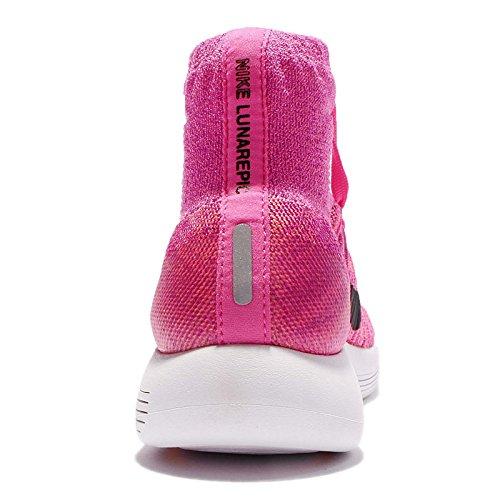 Nike Rosa Prpl Lunarepic Pow Flyknit da vvd Donna Pnk Blk Rosa Pink Wmns atmc Corsa Scarpe rWrqxO18wU