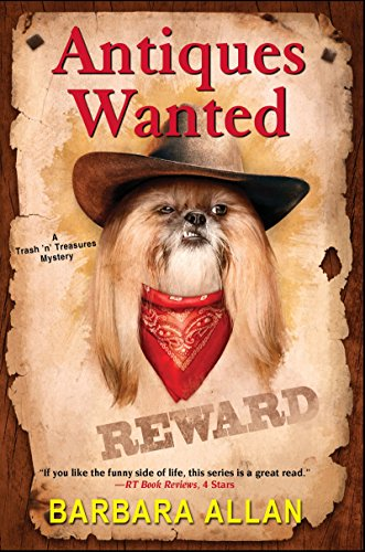 Book Cover: Antiques Wanted