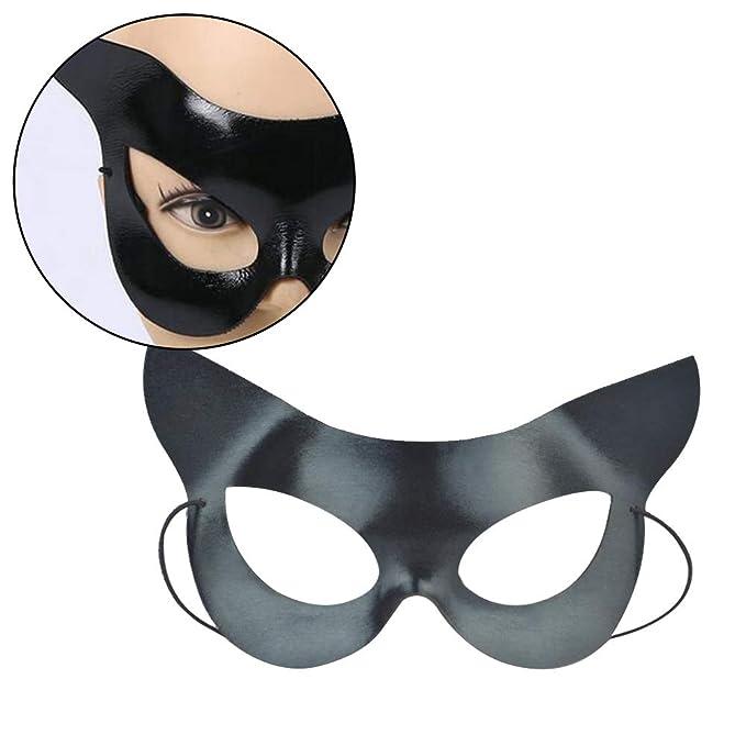 Hieefi 1Pc atractiva Catwoman Media máscara del gato ...