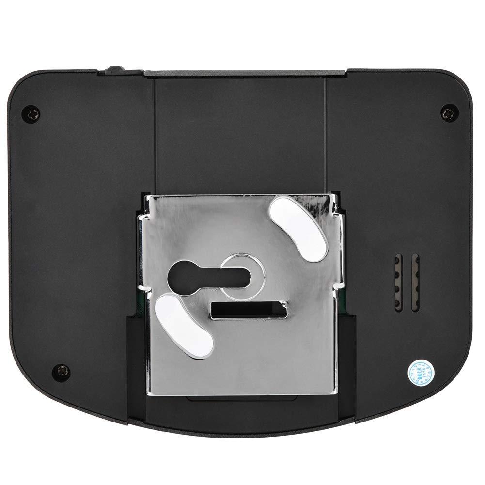T/ürspione 4 * AAA Batterie Nicht enthalten 4.3 Zoll visuelle HD T/ürklingel Kamera IR Nachtsicht Intercom T/ürklingel