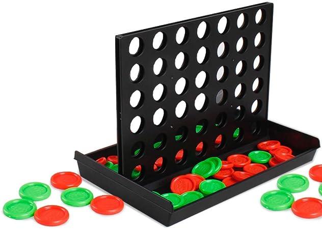 WINBST Juego 3-D Tic TAC Toe 4 GANA el Juego de Mesa para niños Cuatro seguidos en el Viaje Cuatro Victorias: Amazon.es: Hogar