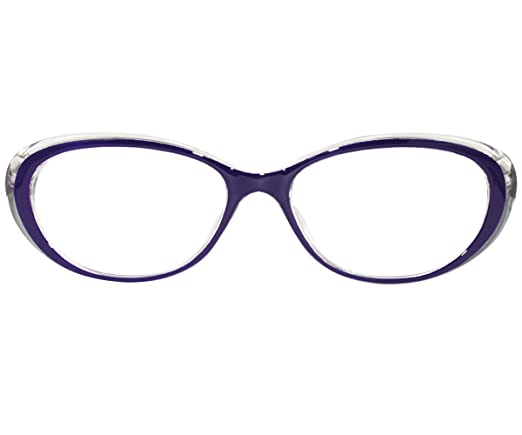 d3a4668ca4 Amazon.com  EyeBuyExpress Reading Glasses Women Cat Eye Violet Unique   Health   Personal Care