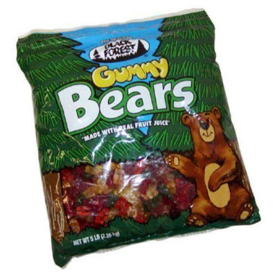 6lbs gummy bears - 6