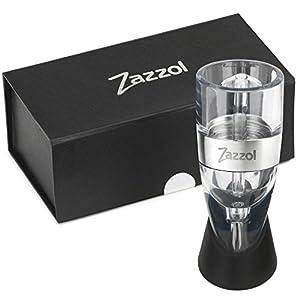 Zazzol Wine Aerator Decanter – Multi Stage Design with Gift Box –...