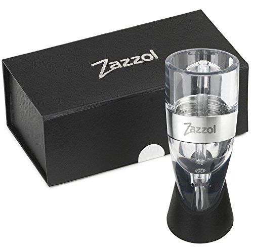 Zazzol Wine Aerator Decanter - Multi Stage Design with