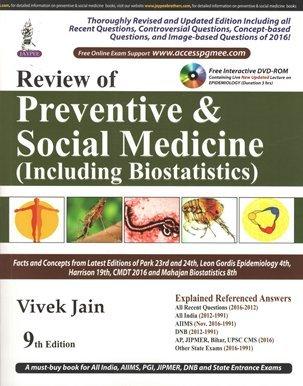 Review of Preventive & Social Medicine (Including Biostatistics) (PGMEE)
