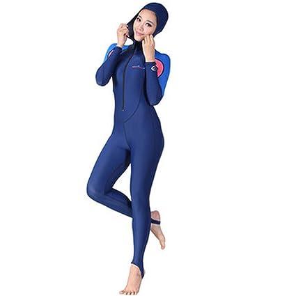 Amazon.com: Traje de buceo para mujer de buceo, snorkeling ...