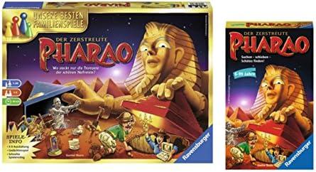 Ravensburger Juegos Set: 26656 – La zerstreute Faraón + 23426 –