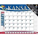 Kansas Jayhawks 2020 Calendar